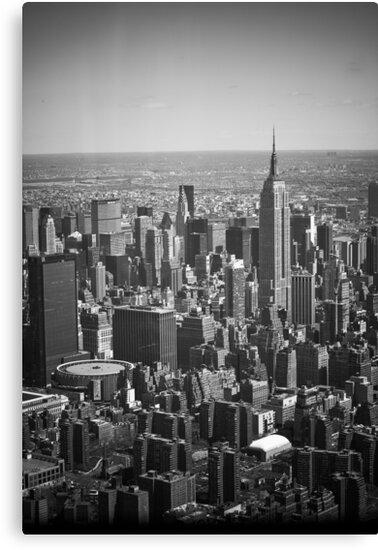 Midtown Manhattan by WestEndBlvd