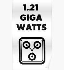 1.21 GIGAWATTS! Poster