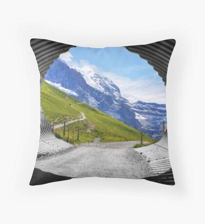 Silberhorn Throw Pillow