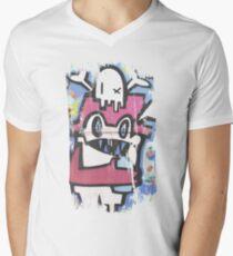 Melbourne Street Art Mens V-Neck T-Shirt