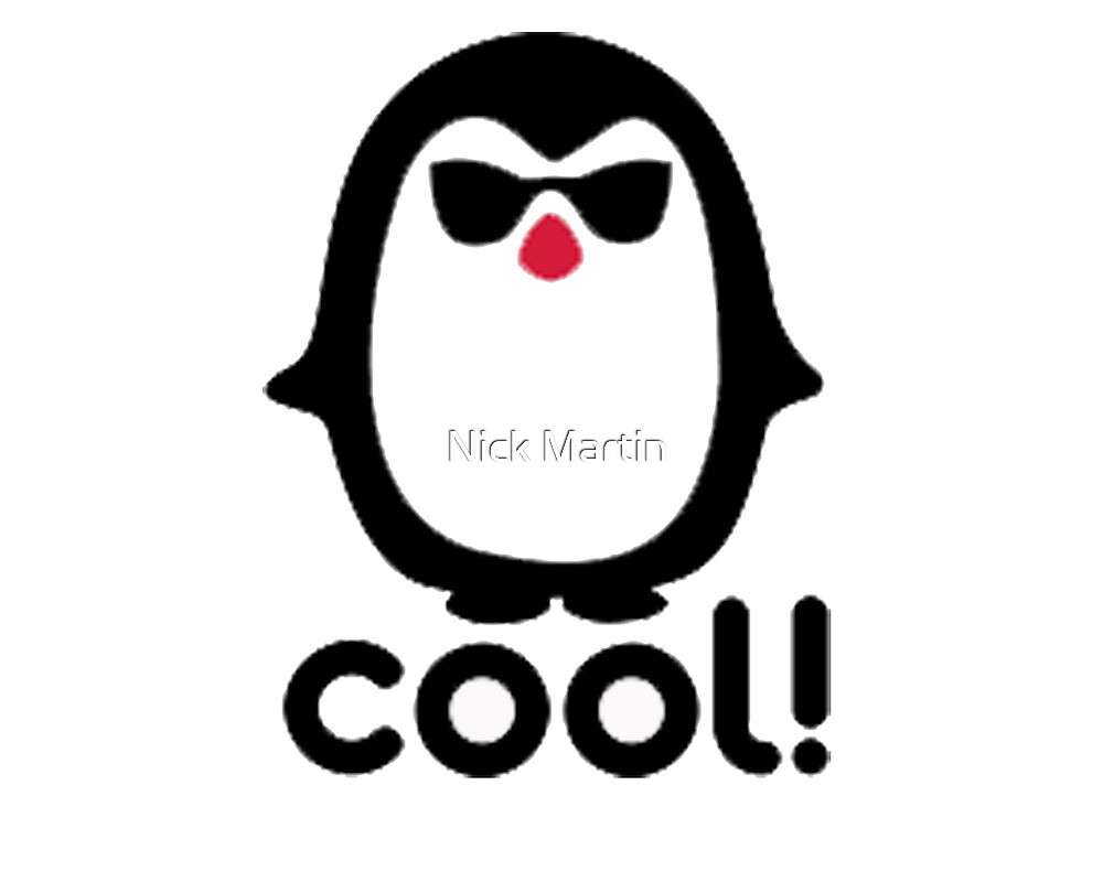 Cool Penguin by Nick Martin