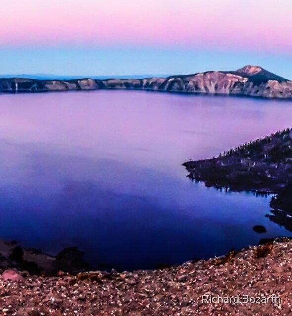 Crater Lake #105 by Richard Bozarth