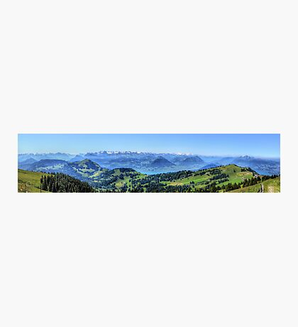 Mt Rigi HDR Panorama Photographic Print
