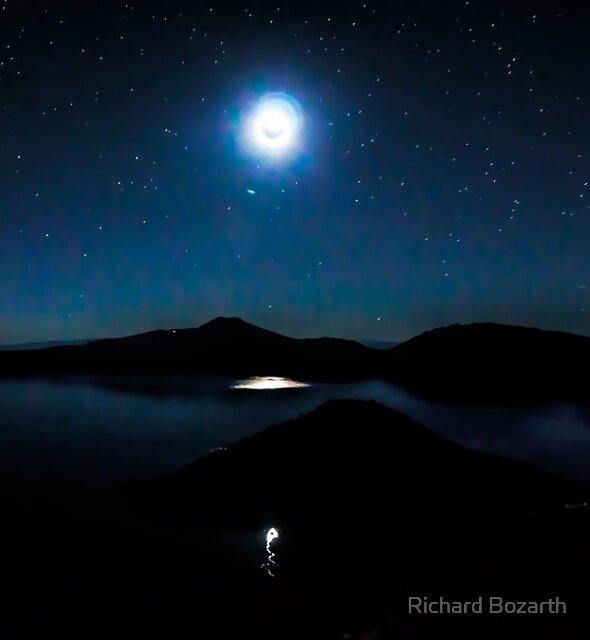 Crater lake #107 by Richard Bozarth