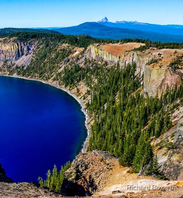 Crater Lake #108 by Richard Bozarth