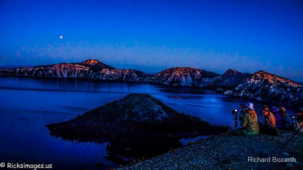 Crater Lake #109 by Richard Bozarth