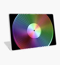 Vinyl LP Record - Metallic - Rainbow Laptop Skin