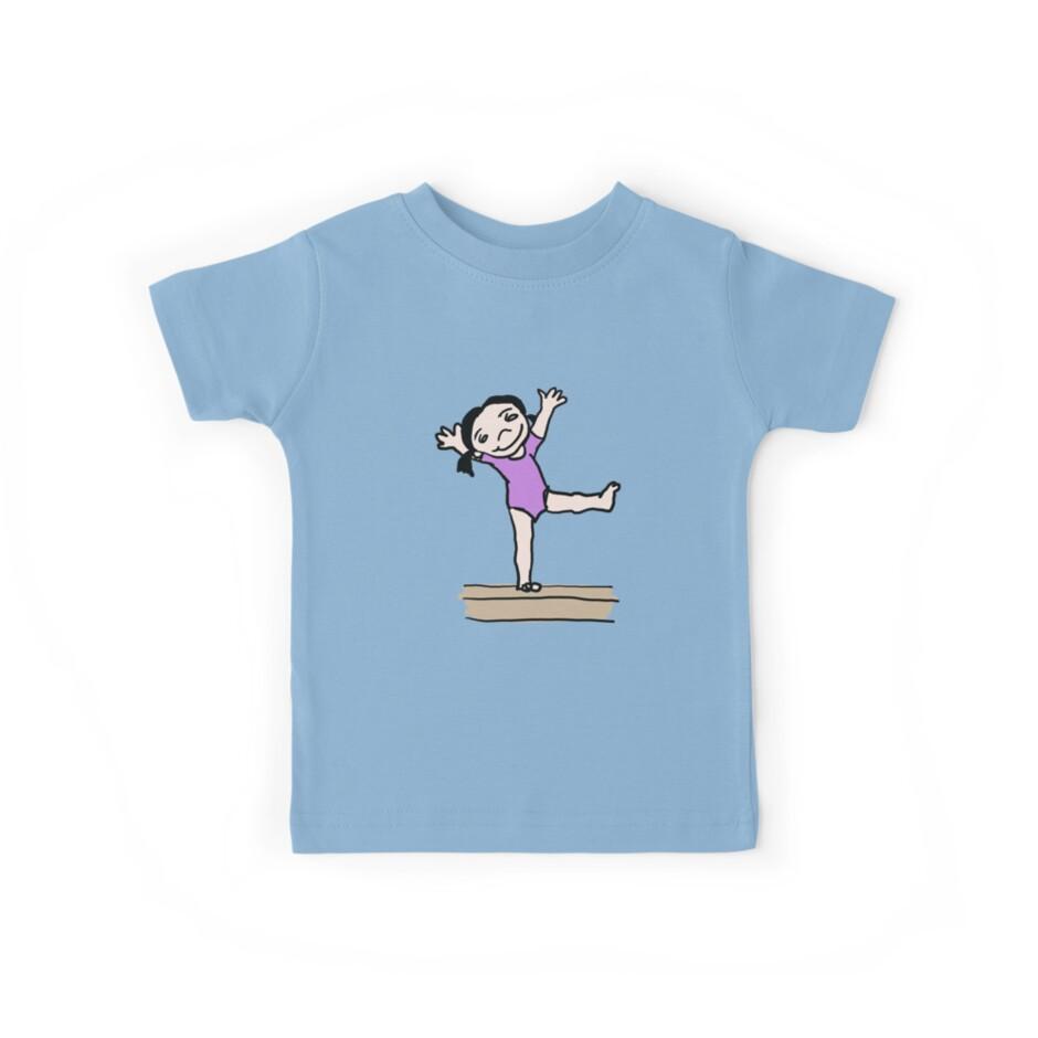Gymnastics Girl by lynniebelle