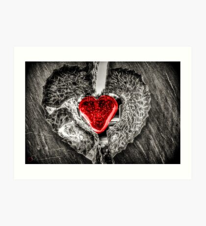 Heart of Rememberance Art Print
