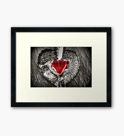 Heart of Rememberance Framed Print