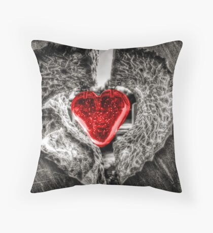 Heart of Rememberance Throw Pillow