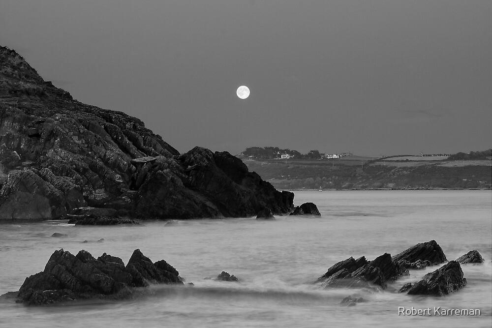 Church Bay Moonrise by Robert Karreman