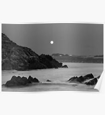 Church Bay Moonrise Poster