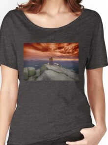Photographer photographed Women's Relaxed Fit T-Shirt