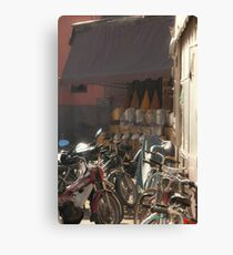 Bikes for Hire. Canvas Print