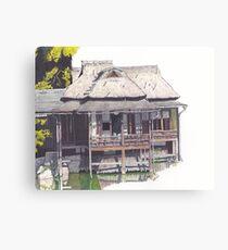 Hakkeitei Guesthouse, Hikone, Japan Canvas Print