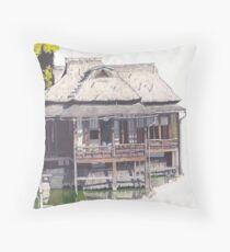 Hakkeitei Guesthouse, Hikone, Japan Throw Pillow