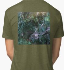 Whirligig on the waters of fall Tri-blend T-Shirt