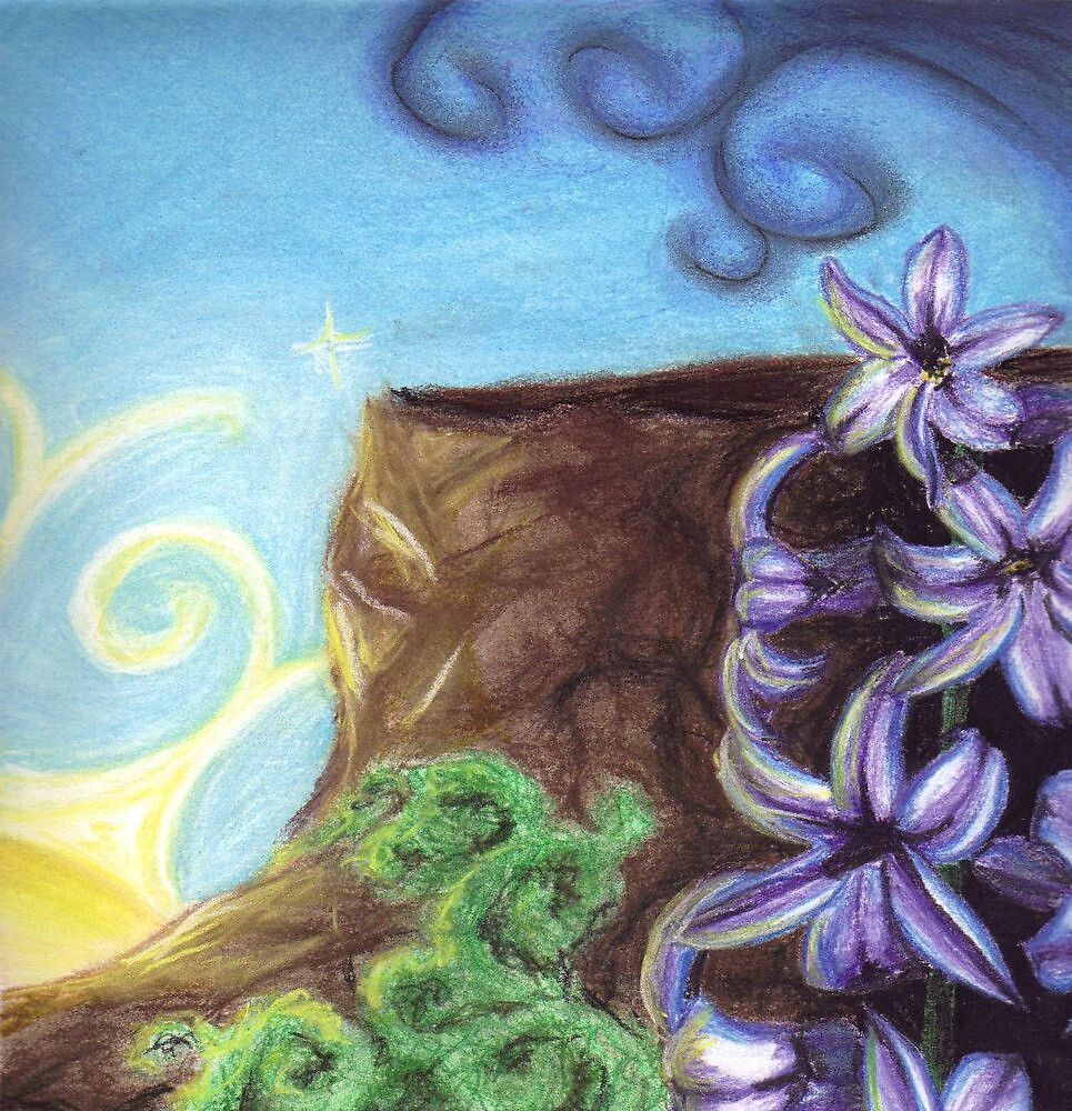 Aunt Meg - Hyacinth by nitsabean