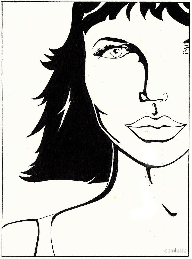 KittyHawk Portrait by Cameron Hampton