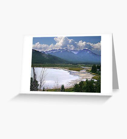 Sundance Range, Banff Greeting Card