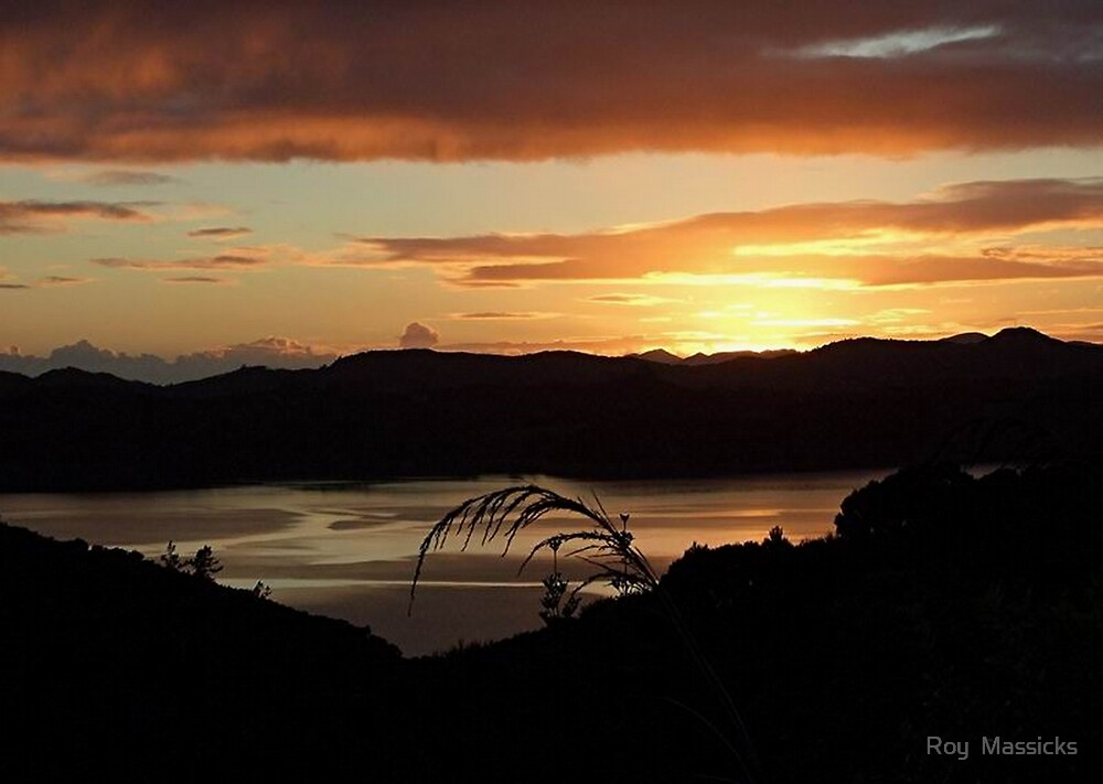 Sunrise....across the road ! by Roy  Massicks