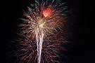 Fireworks - Waterford NY USA by John Schneider