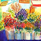 Flowers at Pike Place by Sally Griffin