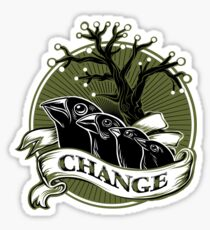 Darwin's Finches Sticker