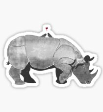 Rihno Love Sticker