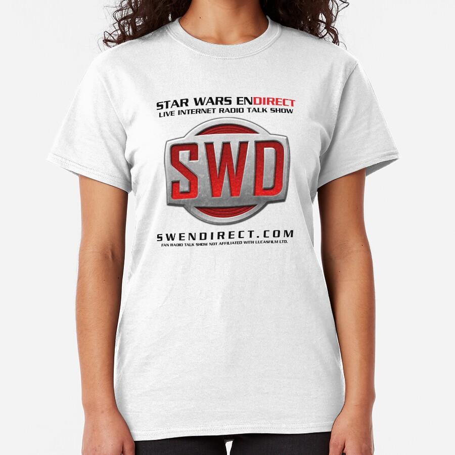 SWD Logo vintage T-shirt classique
