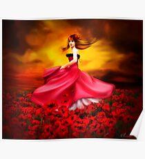Lady Poppy Poster