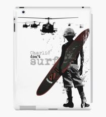 Charlie Don't Surf iPad Case/Skin