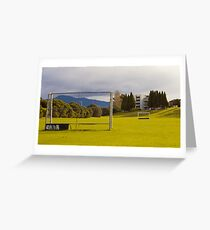 Cornelian Bay - Jeffrey Smart Homage Greeting Card
