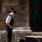 Moslem man at Mosque by geof