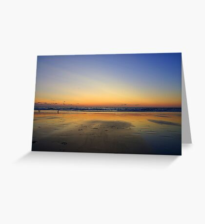 Distant Colours Greeting Card