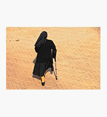 The Walking Nun Photographic Print