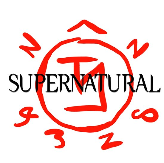 Supernatural Angel Warding Posters By Stormthief19 Redbubble