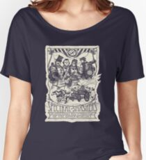 Spectral Smashers on dark shirt Women's Relaxed Fit T-Shirt