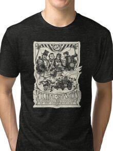 Spectral Smashers on dark shirt Tri-blend T-Shirt