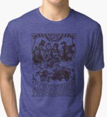 Spectral Smashers on light color Tri-blend T-Shirt