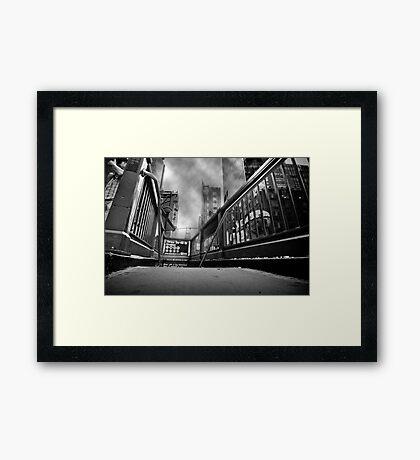 Times square, 42nd street Framed Print