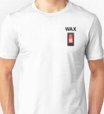 Wax on wax off - black type Unisex T-Shirt