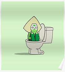 Peridot in the Toilet Poster