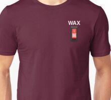 Wax on wax off - white type Unisex T-Shirt