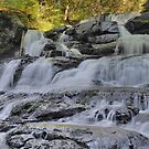 Indian Ladders Falls by Stephen Vecchiotti