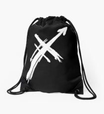 Xs & ARROWs Logo Shirts and Accessories Drawstring Bag
