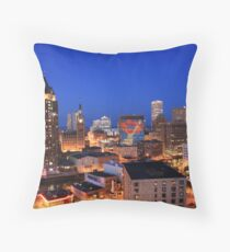 The Smile That Rocks Milwaukee Throw Pillow