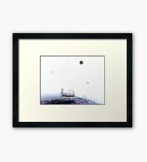In The Still Dark Night Framed Print