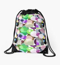Full of Circles Drawstring Bag